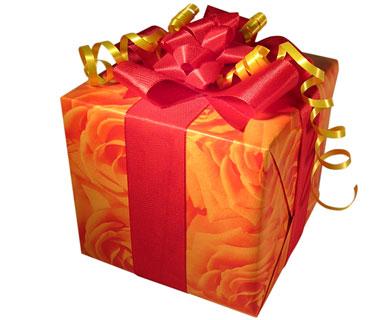 How hat das geschenk — kriens will es verschenken