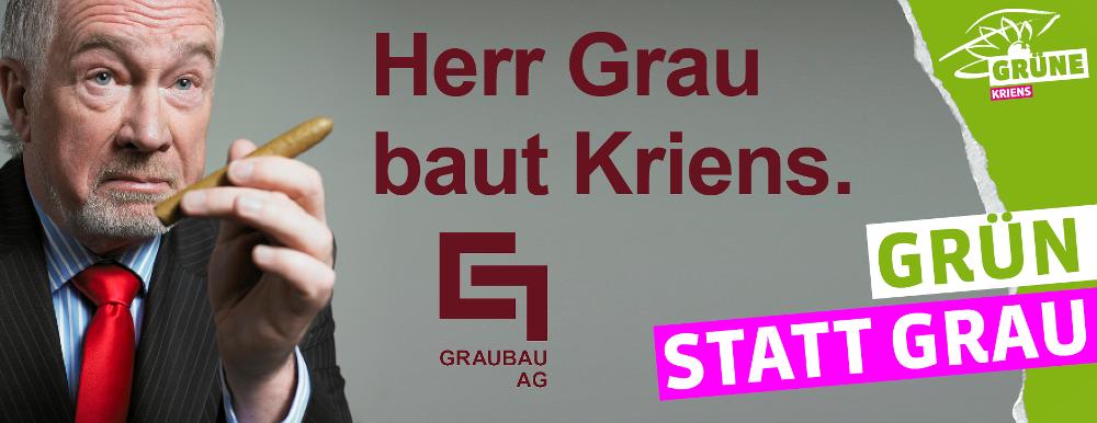 Herr Grau baut Kriens!
